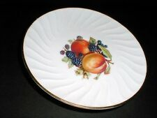 Old Nuremberg Germany Fruit Blackberry Peach Saucer Only (loc-sau18)