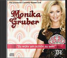 2 CDs * MONIKA GRUBER - Zu wahr um schön zu sein # NEU OVP >
