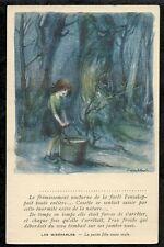 CPA VIERGE POULBOT Les Misérables Petite fille toute seule Ed Henri Chachouin