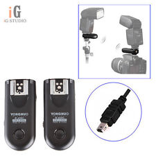Yongnuo RF-603II Wireless Flash Trigger N3 for Nikon D7000 D5100 D5000 D3100 D90