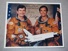 STS-1 Autographed Crew Photo-Young/Crippen