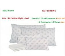Set of 2 My Pillow As Seen On TV King Size Pillow Firm Fill Pillow + *GIFT*