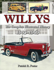 Willys Illustrated History 1903-1963 Book Foster Military Car Truck Jeep Tilden