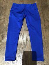 Nwt Justice Cobalt Blue Winter Holidays Fun Leggings Size 6