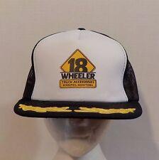 18 Wheeler Truck Accessories Winnipeg MB VTG Baseball Truckers Snapback Hat Cap
