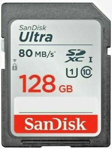 SanDisk Ultra 128GB SDXC™ UHS-I SD Card Speed up t 100MB/s Genuine.FREE DELIVERY