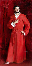 Dr. Pozzi at Home by John Singer Sargent oil painting Printed on canvas P1038