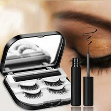 Waterproof Magnetic Eyelashes Portable Eyeliner No Glue False Lash Stay New Hot