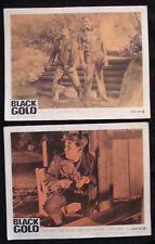 BLACK GOLD Lobby card set DIANE MCBAIN CLAUDE AKINS 1962
