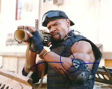 TERRY CREWS SIGNED 8X10 PHOTO EXACT PROOF COA AUTOGRAPHED EXPENDABLES