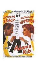 ADAM'S RIB MOVIE POSTER ~ PANTS 26x38 Katharine Hepburn Spencer Tracy