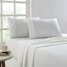 1000 Thread count Egyptian Cotton Luxe Sheet sets Queen White Extra deep