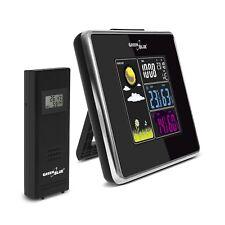 Stazione Meteo WIRELESS IN/OUT temperatura umidità caricabatteria USB GreenBlue