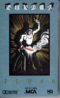 Kansas Power 1986 Hard Classic Rock Roll Cassette Tape Pop
