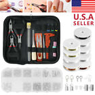 DIY Jewelry Making Kits Wire Sterling Silver Beading Repair Tools Craft Supplies