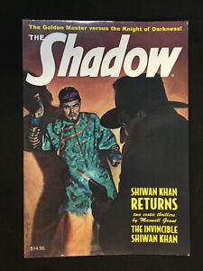 THE SHADOW #80 SHIWAN KHAN RETURNS, THE INVINCIBLE SHIWAN KHAN PULP REPRINT 2013