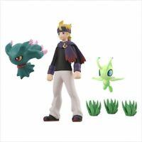 Bandai Pokemon Scale World Jout Region Matsuba & Muuma & Celebi / JAPAN LTD PSL
