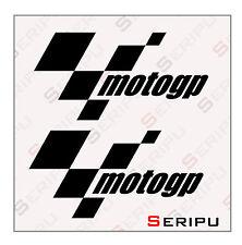 X2 PEGATINAS MOTO GP. RECORTE STICKERS MOTO VINILO TUNING ADESIVO