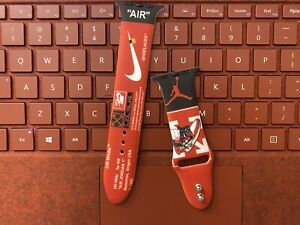 Nike 38/40mm Silicone Sport iWatch Band Strap for Apple Watch Series Jordan