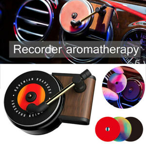 Record Player Design Car Air Vent Fragrance Clip Perfume Freshner Air Freshener