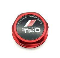 TRD Engine Oil Filler Cap Billet Red For Toyota Camry Corolla Sienna Celica