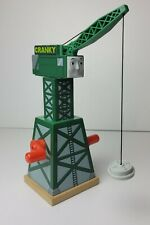 Thomas And Friends Wooden Cranky The Crane 2012 Mattel Gullane Limited