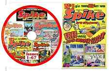 Spike Comics - Issues 1-67 on DVD + viewing software