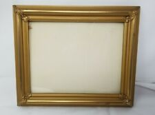 """Picture Frame- 8x10"""" Ornate Gold Color Wood/Gesso-"""