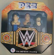 "WWE PEZ DISPENSERS UNDERTAKER JOHN CENA DEWAYNE ""THE ROCK"" JOHNSON WRESTLING"