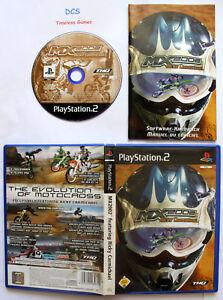 MX 2002 Featuring Ricky Carmichael - Relaunch (Sony PlayStation 2, 2002, DVD-Box