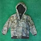 Vintage Kids Realtree Carhartt Quilted Liner Work Jacket | Sz LG 14/16