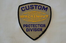 US Canadian Wackenhut Custom Protection Division Patch