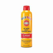 Gold Bond No Mess Body Powder Spray (7 Oz, Classic Scent)