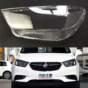 Pair For Buick Encore 2016~2018 Headlight Cover Car Headlamp Lens Auto Shell