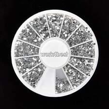 Art Pour Les Ongles 3600 PIÈCES 1.5mm Strass Paillettes Diamant