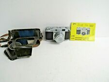 Ricoh 500 Rangefinder Camera Riken Ricoh 1:2.8 f/4.5CM Lens w/Manual