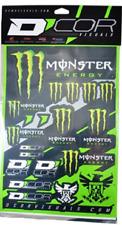 PLAQUE Kit Déco Stickers  Monster Energy Haute qualité 50 X 28 CROSS MOTO 495692