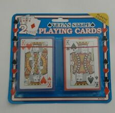 New ListingPlaying Cards 2 Pack Vegas Style Casino Camping Kiling time Plane Train Bus Bob