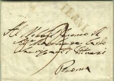 815-STATO PONTIFICIO, PREF., DA TERNI A ROMA, DA BIAGIO BARBAROSSA, 1826