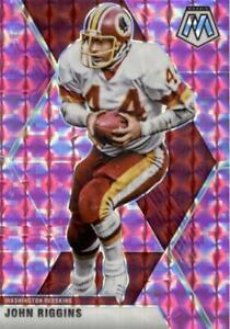 John Riggins 2020 Mosaic Pink Camo Prizm #200 Washington Redskins