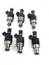 SET OF 6 ROCHESTER FUEL INJECTORS 1992-1995 ISUZU TROOPER 3.2L V6 8171049610