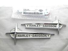 Harley Davidson Tank Embleme Tankembleme Tankschilder mit Adapter Kit 61776-61T