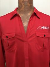 Ogio Mens XL Red Ashley Short-Sleeve Polyester Pullover Polo Shirt NEW