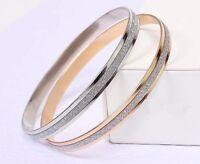 10 x Silver Diamanté Bangles Wholesale Joblot Car Boot High Quality Jewellery UK