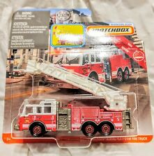 MATCHBOX PIERCE AERIAL VELOCITY RESCUE FIRE TRUCK ENGINE MISSI REAL WORKING RIGS