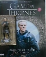 GAME OF THRONES ISSUE 9 BRIENNE OF TARTH EAGLEMOSS FIGURE COLLECTOR'S MODEL
