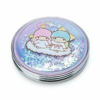 Little Twin Stars double mirror hologram Sanrio 2019 kawaii F/S NEW