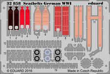 EDUARD 32858 WWII German Seatbelts in 1:32