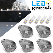 5x Roof Cab Marker Lights Lens w/LED Bulbs For Ford F350 F450 F550 Super Duty