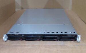 Supermicro 1U CSE-815 X9SCI-LN4F CTO 1U Rack Mount Server